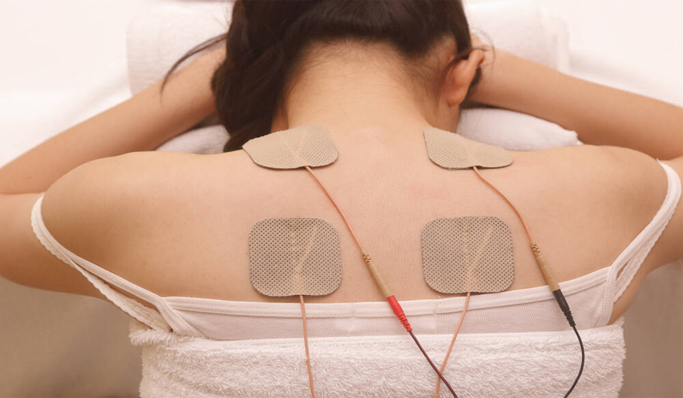 electrotherapy at Corinne Evans Physiotherapy Clinic Tralee