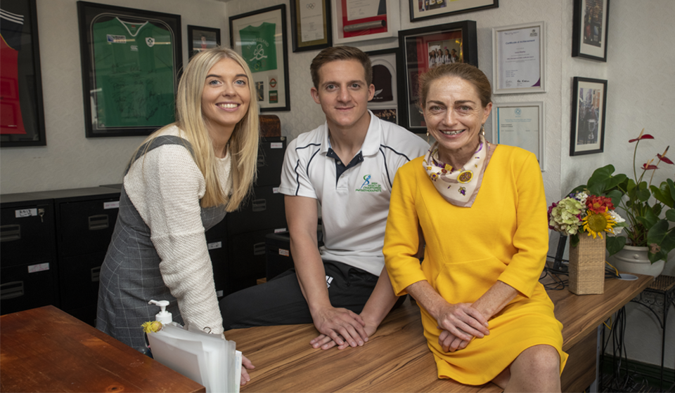 Our Team here at Corinne Evans Physiotherapy Tralee